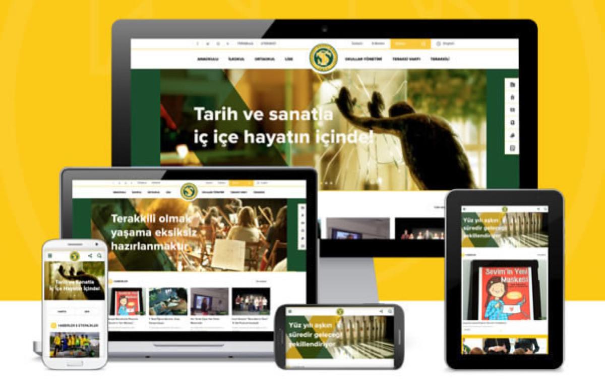 Terakki Vakfı Okulları Web Sitesi Amerika'dan Müke...