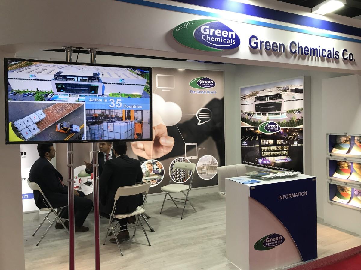 GREEN Chemicals, Tahran'da Su Şartlandırma Teknolo...