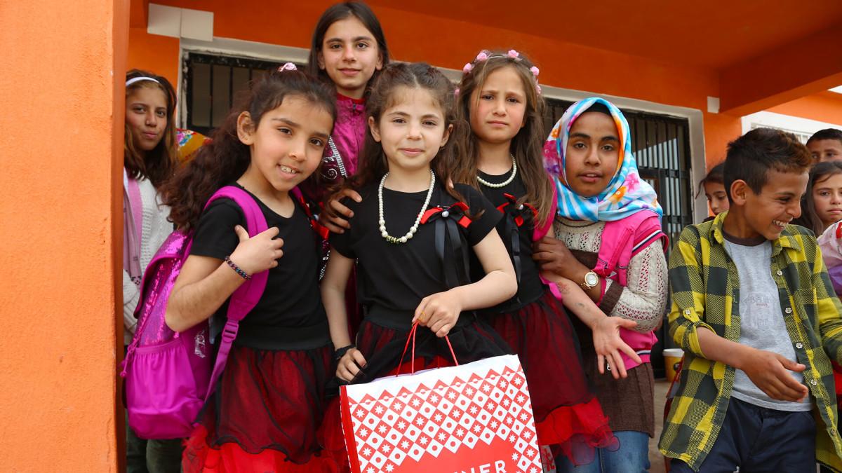 Şanlıurfa Yediyol İlkokulu Çocuklarının dilekleri...