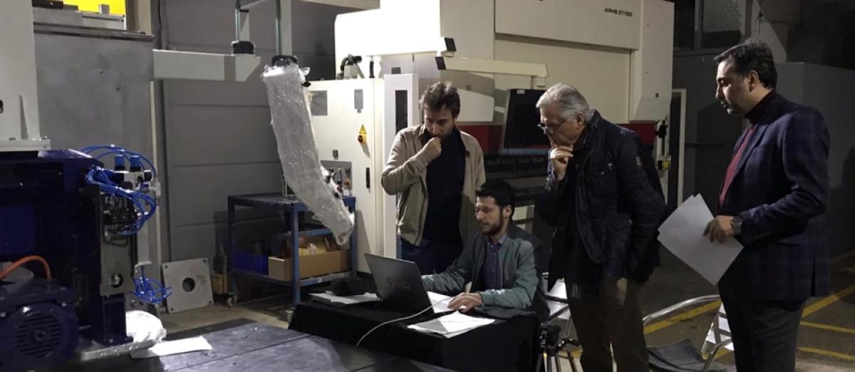 Türk firmasından Almanya'ya 5 eksenli CNC makine i...