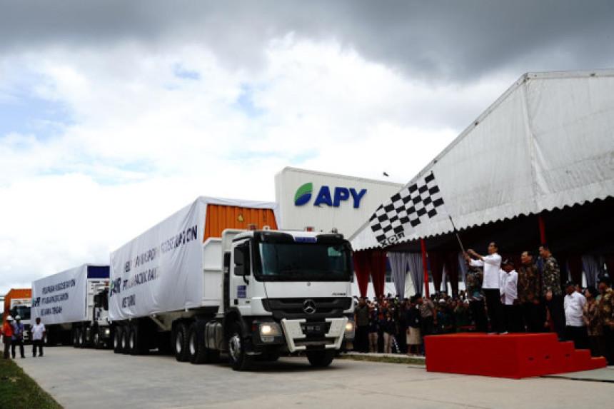 Endonezya Başbakanı Ülkenin En Büyük Entegre Viskoz Suni İpek Üretim Tesisinin Açılış Törenini Gerçekleştiriyor